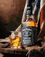 Картина по номерам 40×50 см. Теннесси Виски Джек Дэниэлс