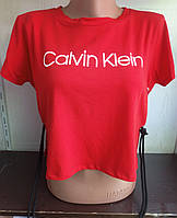 Топ со шнуровкой по бокам женский CALVIN KLEIN (ПОШТУЧНО), фото 1