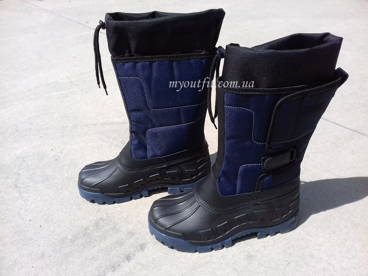 4159c63284e589 Мужские сапоги для зимней рыбалки охоты Синие Чоловічі чоботи для зимової  рибалки полювання Сині - myoutfit