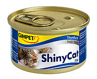Консервы Gimpet Shiny Cat для кошек, c тунцом, 70г