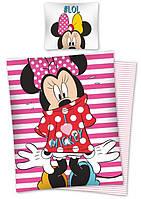Комплект постельного белья Детский NR 1110 Detexpol 0642 Красный, Розовый
