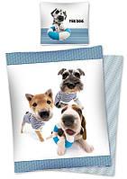 Комплект постельного белья Детский NR 1141 Detexpol 1151 Белый, Синий