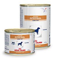 Консервы Royal Canin Gastro Intestinal Low Fat, для собак с проблемами пищеварения, 410г