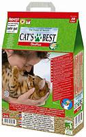 Наполнитель Cat's Best Eсo Plus, комкующий, 40л/17,2 кг
