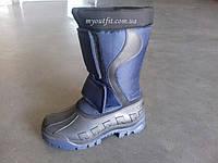 Мужские сапоги для зимней рыбалки охоты Синие Чоловічі чоботи для зимової рибалки полювання Сині