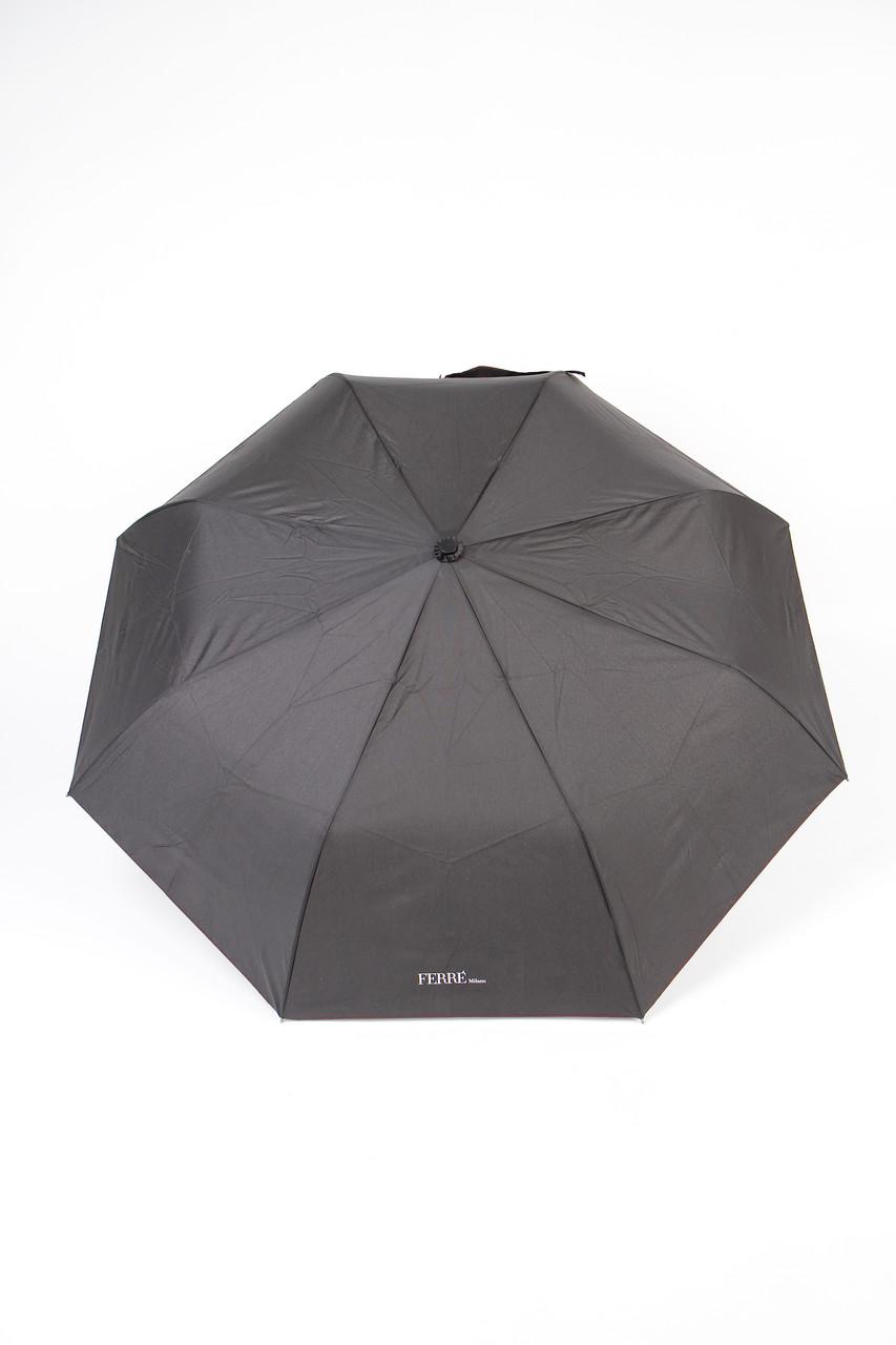 Зонт-полуавтомат Gianfranco Ferre Черный (LA-7003)