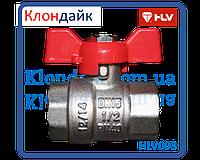 HLV Optima кран шаровый PN 40 1/2 ГГ бабочка