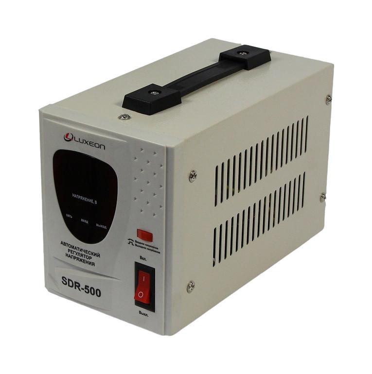 Стабилизатор напряжения Luxeon SDR-500 (релейный)