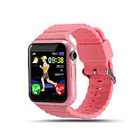 Смарт-часы BabyGPS V7K Розовые