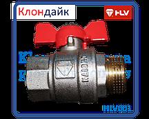 HLV Optima кран шаровый PN 40 1/2 ГШ бабочка