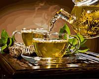 Картина по номерам 40×50 см. Традиции чаепития, фото 1