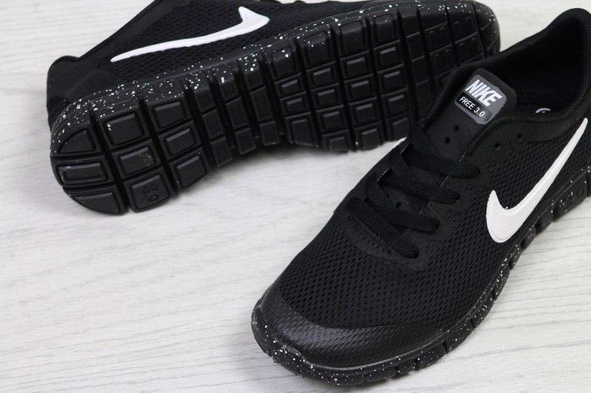 f54ba792 Кроссовки Женские Черные Nike Free Run 3.0 5307 35,36,37,38,39,40,41 ...
