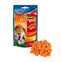 Витамины Trixie Vitamin drops для грызунов, с морковью 75г