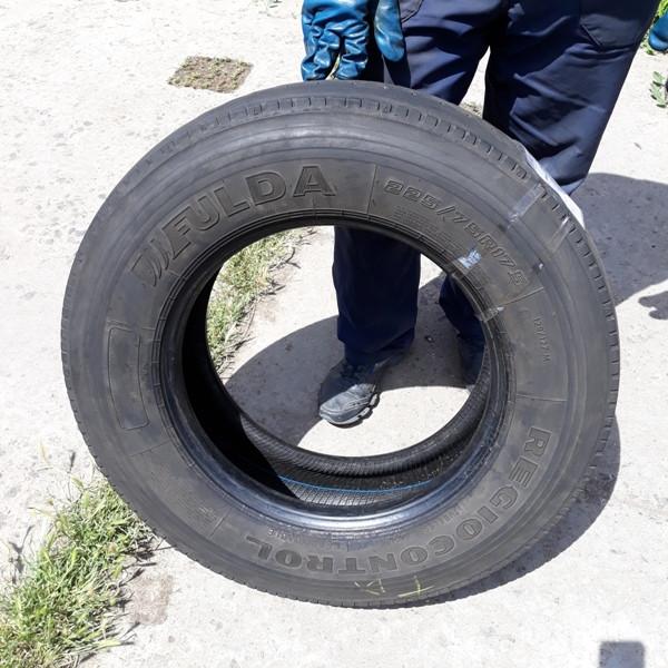 Грузовые шины б.у. / резина бу 225.75.r17.5 Fulda Regiocontrol Фулда