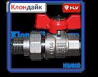 HLV Optima кран шаровой с американкой 1/2 PN40
