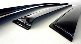 Ветровики, дефлекторы окон Mercedes Benz C-klasse Sedan (W203) 2000-2006 'Cobra tuning'