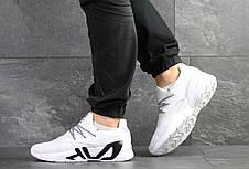 Мужские летние кроссовки Fila,белые, фото 3