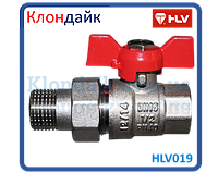 HLV Optima кран шаровой с американкой 1 PN40