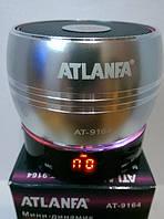 Портативная колонка-радиоприемник ATLANFA AT-9164 c MP3, USB, CardReader