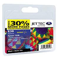 Картридж Jet Tec Epson Stylus C41/C43/C45 Black (110E003801)