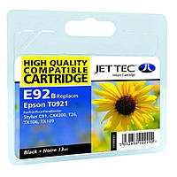 Картридж Jet Tec Epson Stylus C91/T26/TX119 Black (110E009201)
