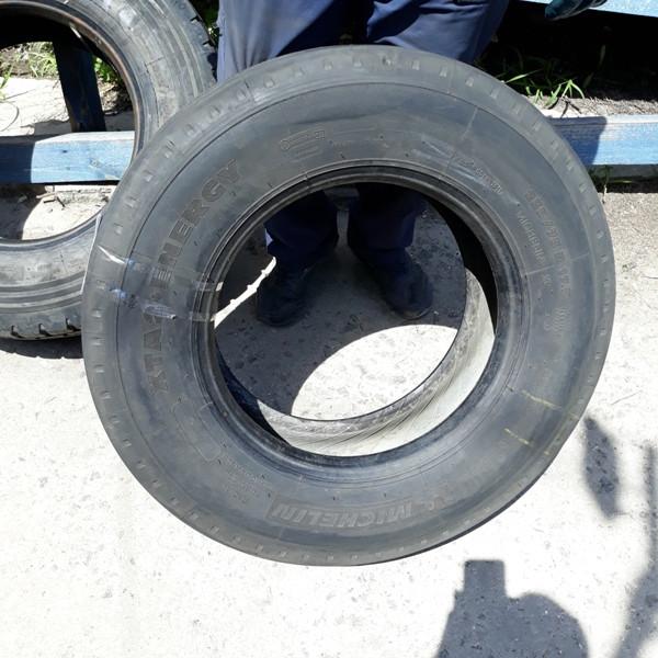 Шины б.у. 235.75.r17.5 Michelin XTA2+ Energy Мишлен. Резина бу для грузовиков и автобусов