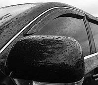 Ветровики, дефлекторы окон Subaru Forester II 2002-2008 (4 части) 'Cobra tuning'