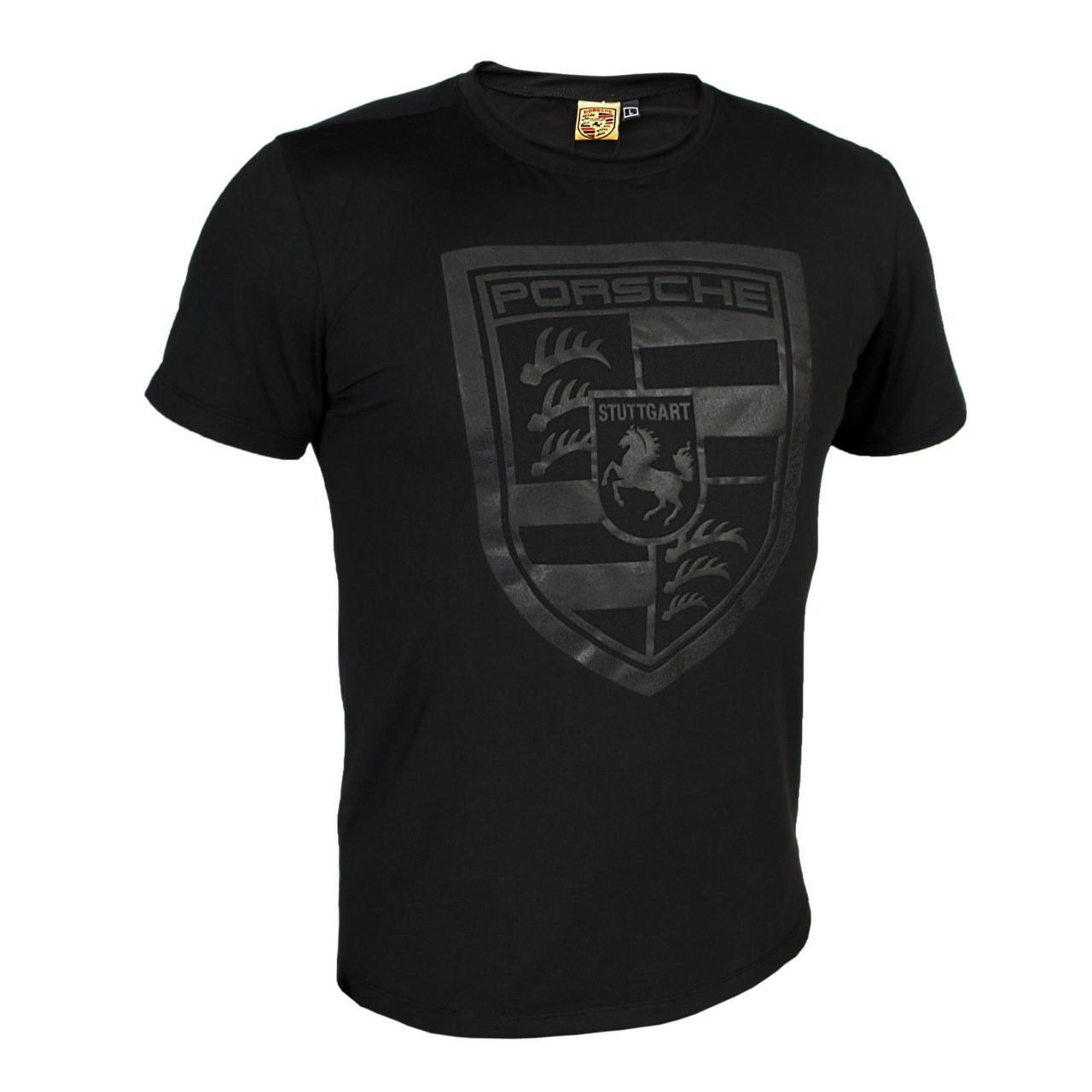 Футболка мужская реплика Porsche Design (черный)