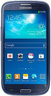 Дисплей (экран) для телефона Samsung Galaxy S3 Duos I9300i, Galaxy S3 Neo Duos I9301 + Touchscreen with frame Original Blue