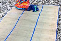 """Пляжный коврик """"Соломка на фольге"""" 90 см*180 см"""