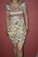 Платье  Беж  Клара