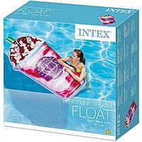 Надувной пляжный плот-матрас Intex 58777 Ягодный коктейль (198х107 см)