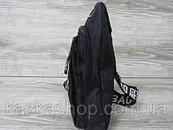 Сумка через плечо, велосипеда, два отдела, с накатом в стиле Fila (реплика) регулируемый ремешок, тканевая, фото 2