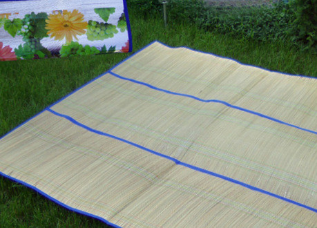 """Пляжный коврик """"Соломка на фольге"""" 120 см*180 см"""