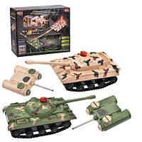 Набор танков на дистанционном управлении Play Smart Танковый бой (10-87-9672)