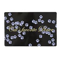 Коврик Trixie Cats favourite Diner, под миски для котов, 44*28см