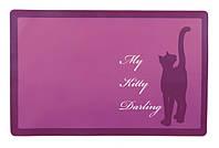 Коврик Trixie Kitty Darling, под миску для котов, 44*28см