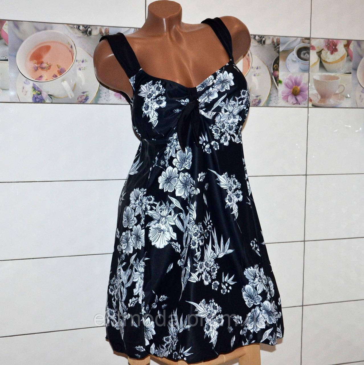 89d6ab52bb44c Большой 72 размер! Черный летний купальник платье танкини, высокие плавки, для  женщин с