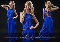 Платье / штапель, гипюр / Украина 15-555, фото 1