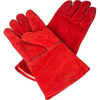 Защитные перчатки Werk Красные (1-WE2128)