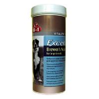 Витамины 8 in 1 Excel Brewers Yeast  для крупных собак, 80 табл