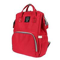 Рюкзак органайзер для мам Baby Baylor Red (hub_aPcx64774)