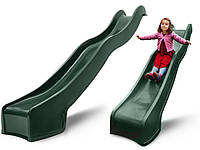 Горка спуск для детской площадки Hapro 3 м. (Зеленая)