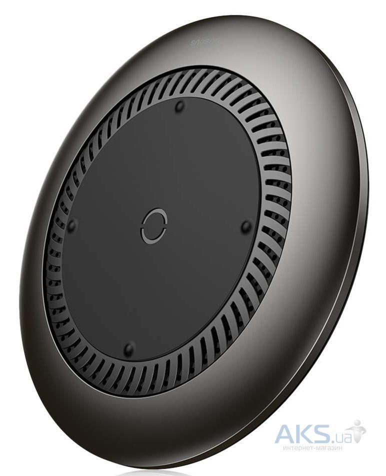 Беспроводное (индукционное) зарядное устройство  Baseus Whirlwind Desktop Black (CCALL-XU01)