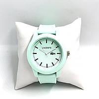 Стильные часы Lacoste в мятном