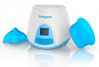 Подогреватель-стерилизатор электронный BabyOno 218 Белый с голубым (LS101005357)