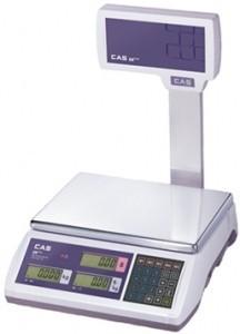 Весы торговые CAS ER-Plus EU RS-232