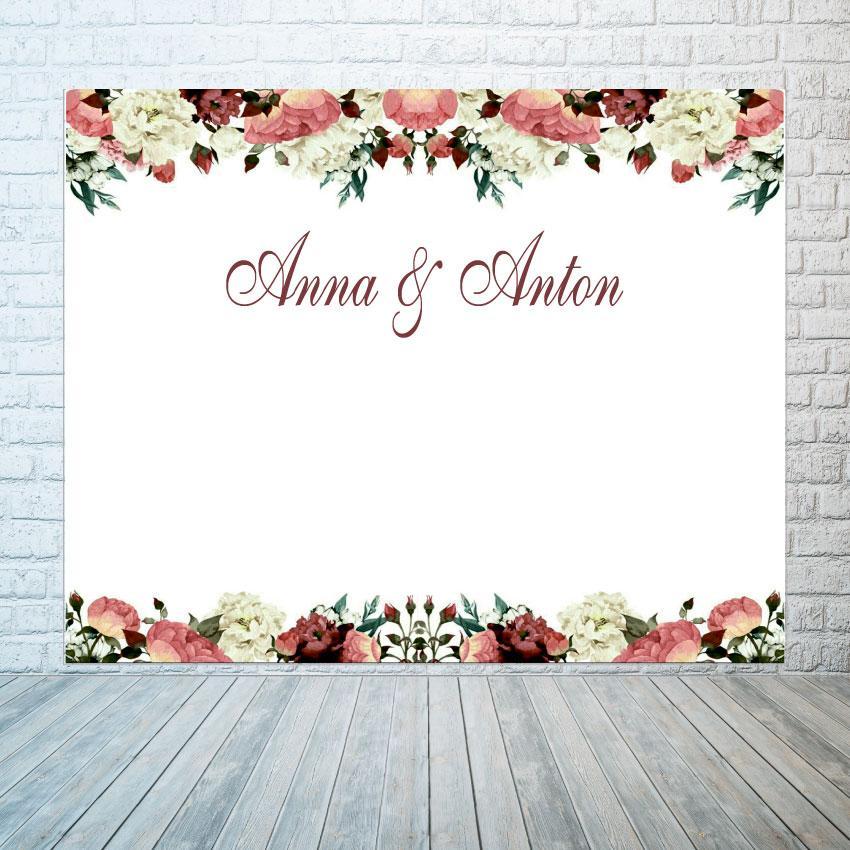 Баннер Свадебный  2х3м