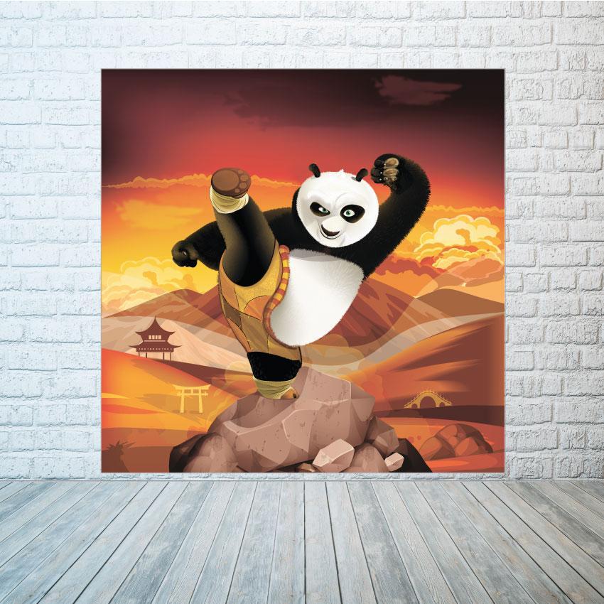 Баннер Кунг-фу панда  размер на выбор