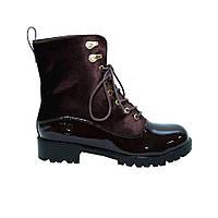 Ботинки лак VICES 37 Коричневые (50857/37)